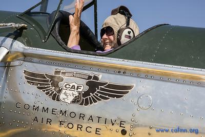 Lakeville Airport, CAF Flights--July 13, 2014
