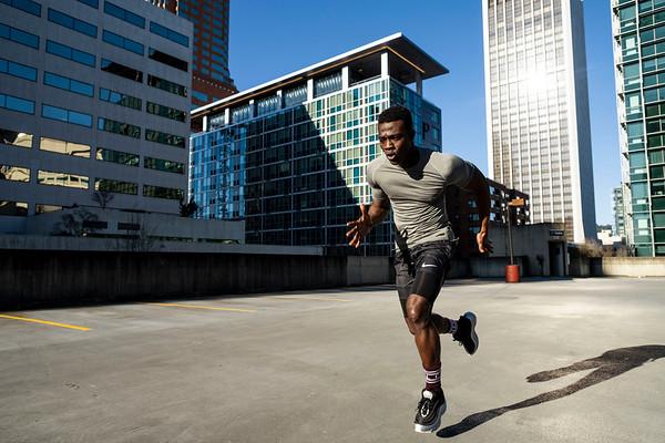 Kojo David Fitness Test Shoot