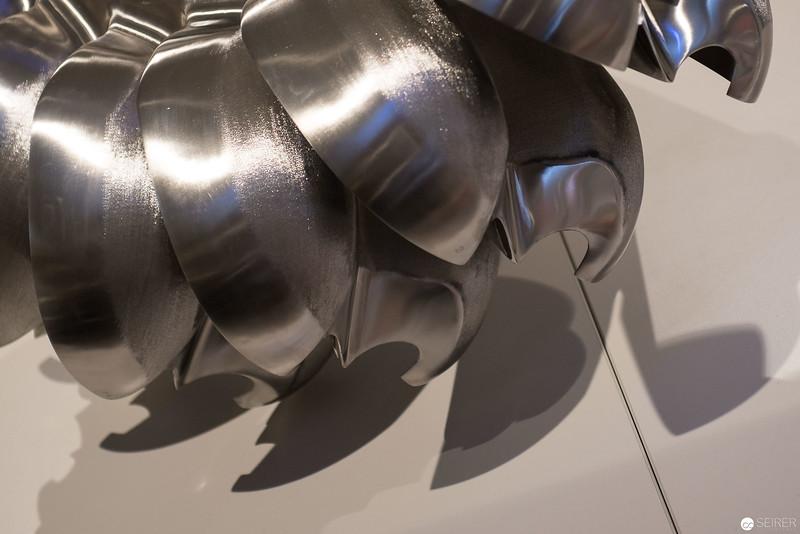 Ausschnitt einer Pelton-Turbine