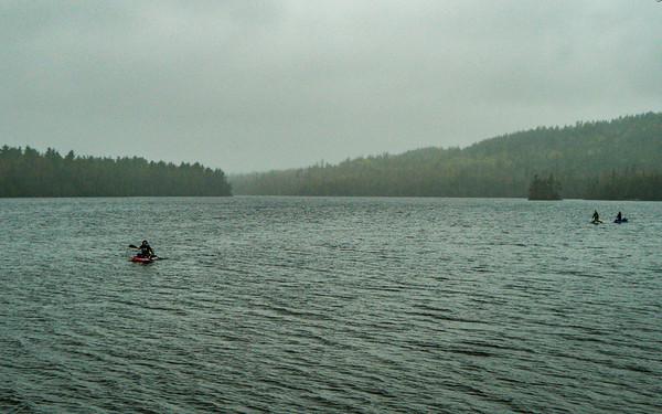 Dodging the Rain - BWCA