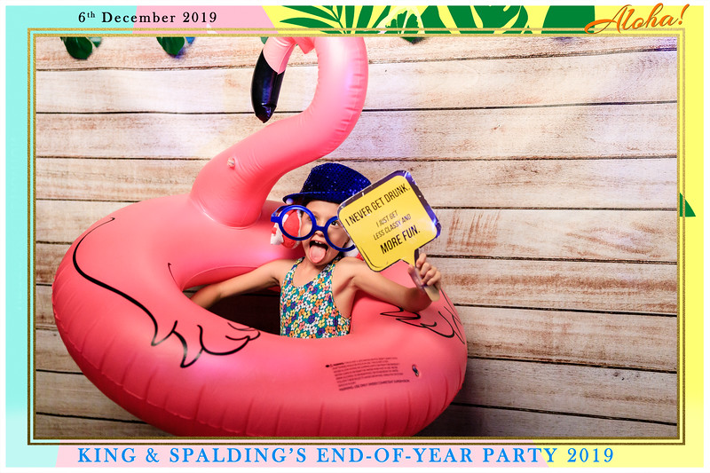 King & Spalding's End of Year Party   © www.SRSLYPhotobooth.sg