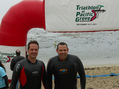 Pacific Grove Triathlon, Sept 2011
