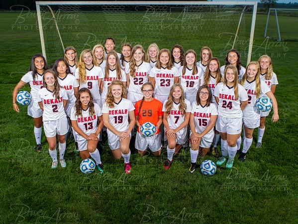 2018 Dekalb Girls Soccer