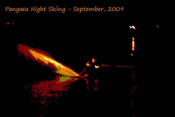Night Skiing Pangaea September 2009