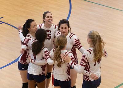 11/9/19: JV Volleyball vs Hotchkiss