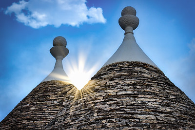 Trulli Beautiful Sunrise