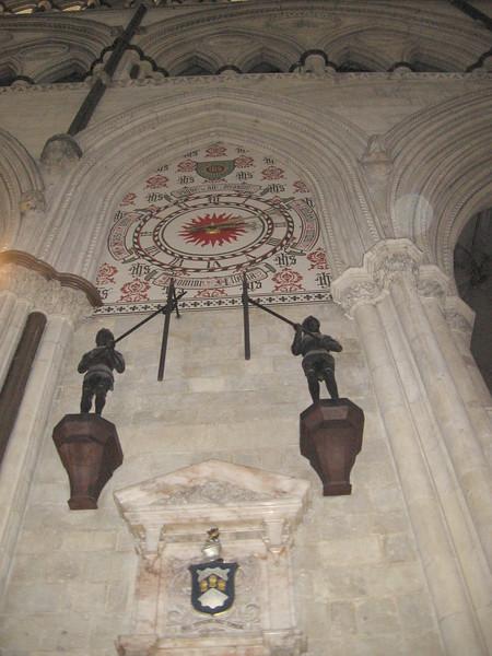 Astronomical Closk, York Minster
