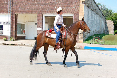 Longton KS Fair Parade 8-2-08