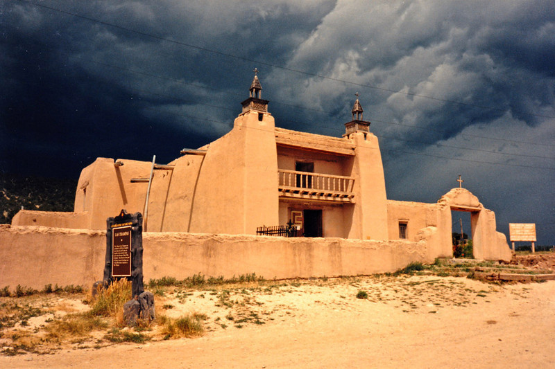 SAN JOSE de GRACIA MISSION CHURCH Las Trampas, New Mexico