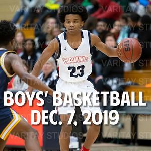 Prairie Boys Basketball, December 7, 2019