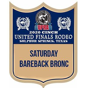 Saturday Night Bareback Bronc