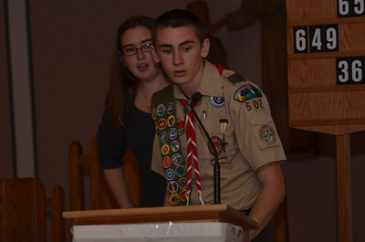 Alex Brodeur Eagle Scout Court of Honor 1/12/14