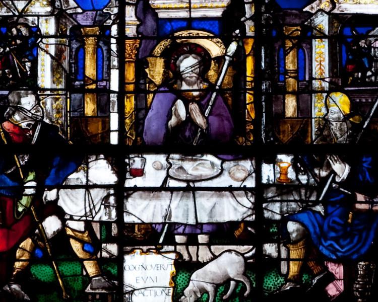 Rouen, Saint-Patrice Church, The Supper at Emmaus