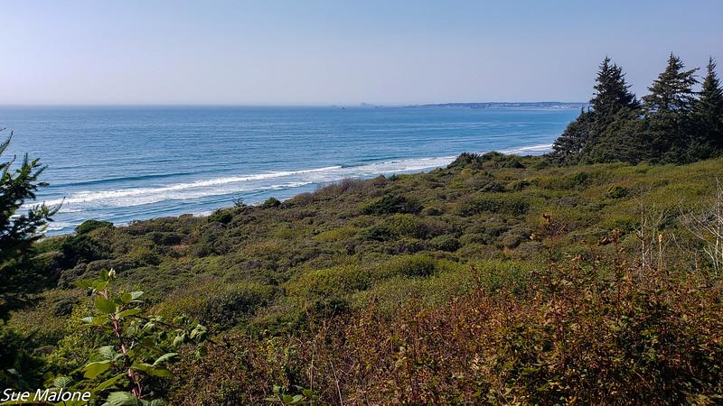 coastal trail to Endert's Beach
