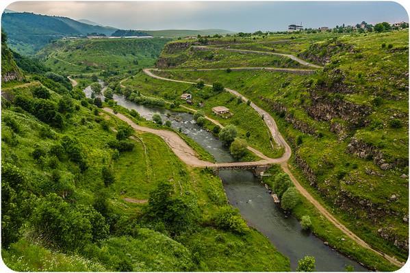 Scenic Ride in Armenia