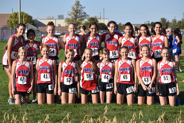 Middle School XC at Norris