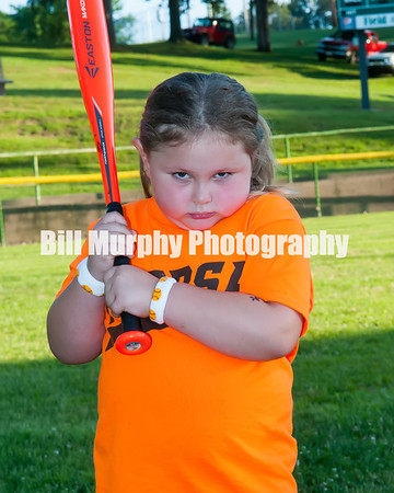 2016 5-7 Softball Orange Team, June 9, 2016