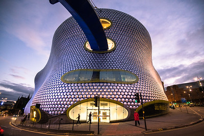 Bullring & Selfridges - twilight