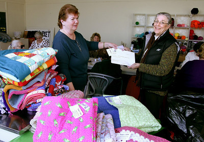 Project Linus gives to Meals on Wheels