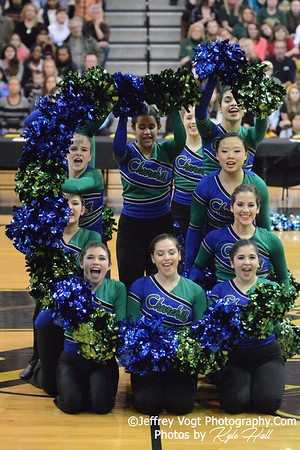 Division 1 MCPS Poms Championship at Richard Montgomery HS 2-14-2015