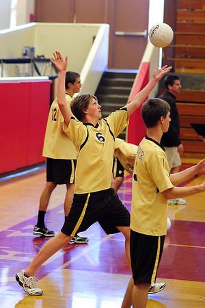 TP Volleyball, V vs Francis Parker, Mar 17 09