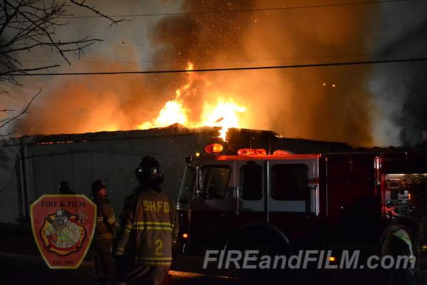 Schuylkill County - Cressona Borough - Commercial Fire - 11/26/2011