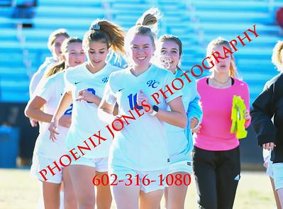 1-30-2020 - Northwest Christian vs Valley Christian - Girls Soccer