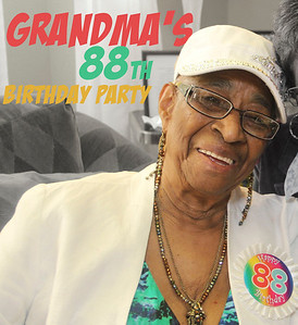 Grandma 88th Birthday pics