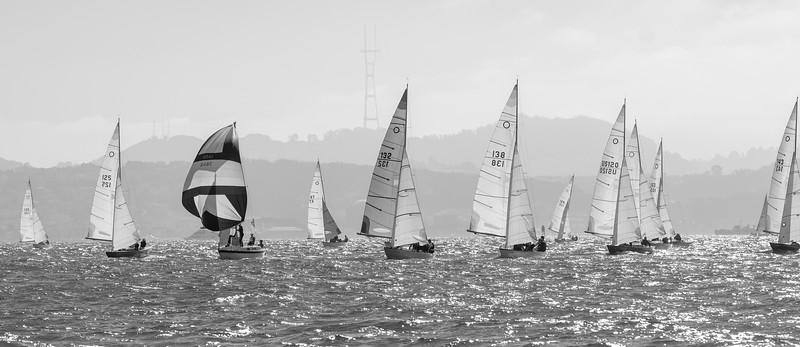 Knarr Fleet Racing Downwind