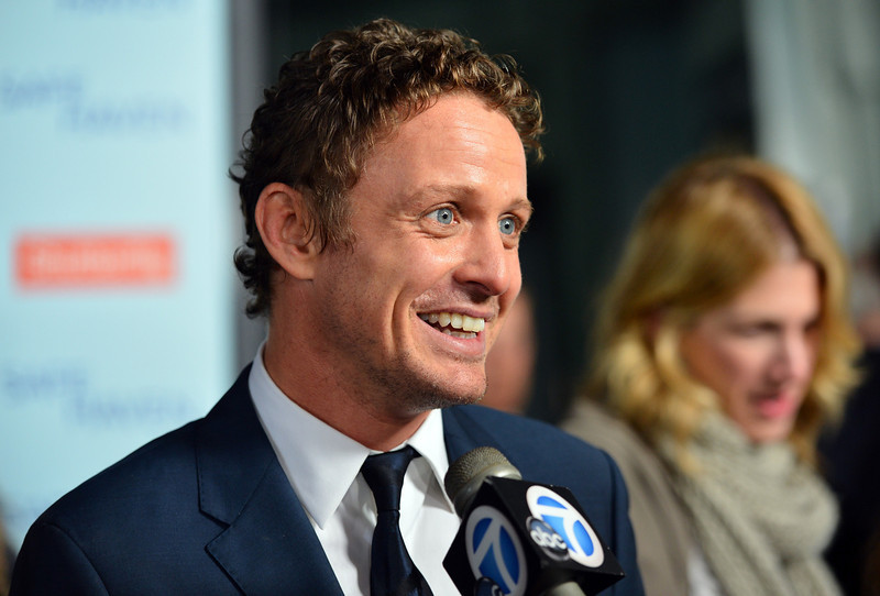 """. Actor David Lyons arrives at the premiere of Relativity Media\'s \""""Safe Haven\"""" at TCL Chinese Theatre on February 5, 2013 in Hollywood, California.  (Photo by Alberto E. Rodriguez/Getty Images for Relativity Media)"""