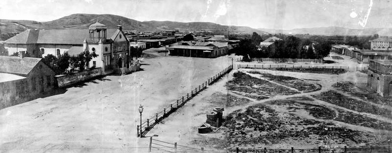 1869, Plaza Church and La Plaza