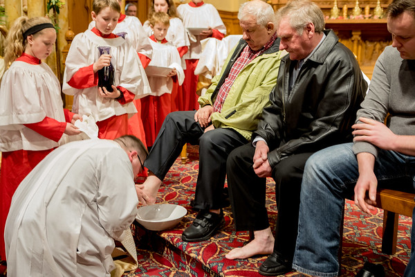 Mass of the Lords Supper, April 13, 2017