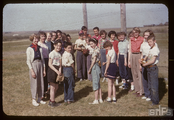 Aneroid school group. Aneroid. 05/19/1955