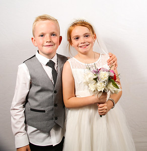 Mr & Mrs Herd Wedding Photo booth Backdrop