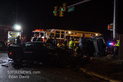 01/23/2019, MVC with Entrapment, Millville City, N 2nd St. and Blue Bird Ln.