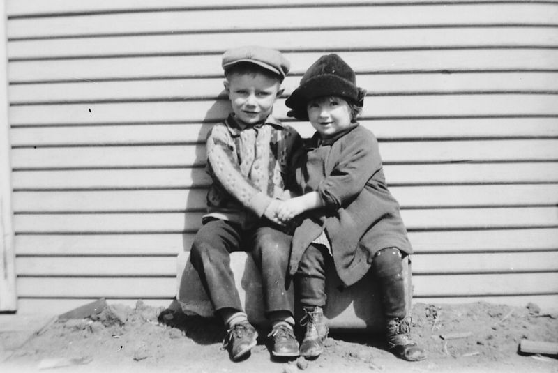 Ernest and Goldie Gladys Glines.