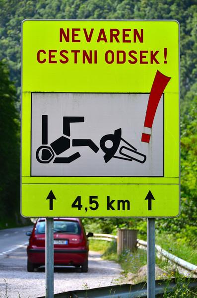 Beware of Fallen Bikers!