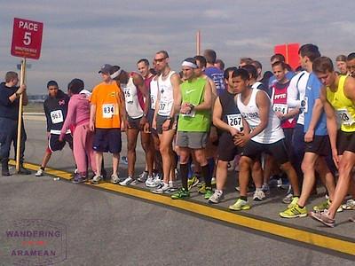 JFK Runway Run 2012