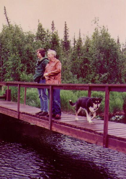 Swanson River Foot Bridge,AK,Dave,Wayne,Tundra, 6-80   - Copy.jpg