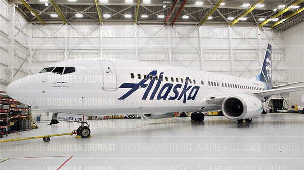 Alaska Airlines unveils it's newest livery in this exclusive to the Puget Sound Business Journal