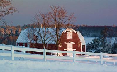 Mike Cempa - Winter Barn - 7