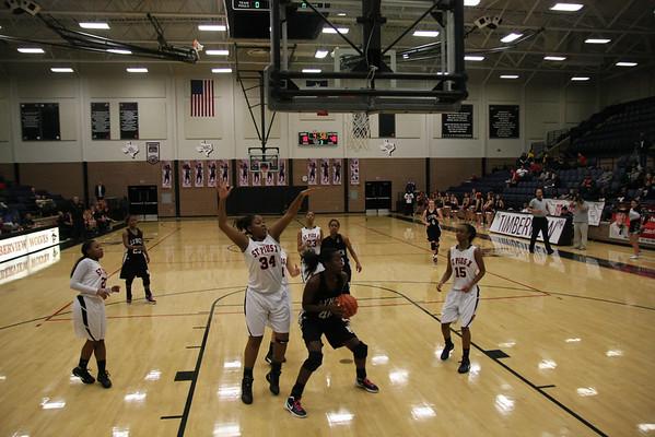 Lady Friars Basketball State Semi-Final