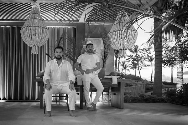Luis Bandha & Noe Ariza , Conrad