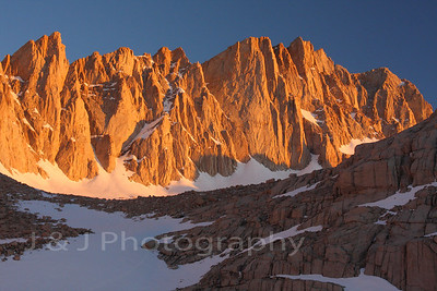 Mt. Whitney & Wotans Throne, May 2011
