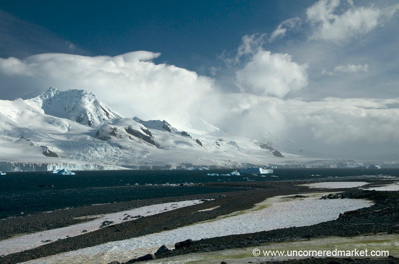 View from Half Moon Island - Antarctica
