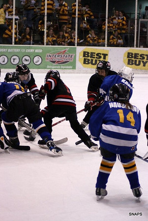 Mesabi East Mites vs Hermantown @ UMD