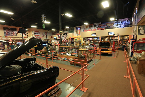 Russell's Car Museum in Glen Rio, New Mexico