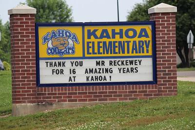 Kahoa Elementary Reckeway Retirement