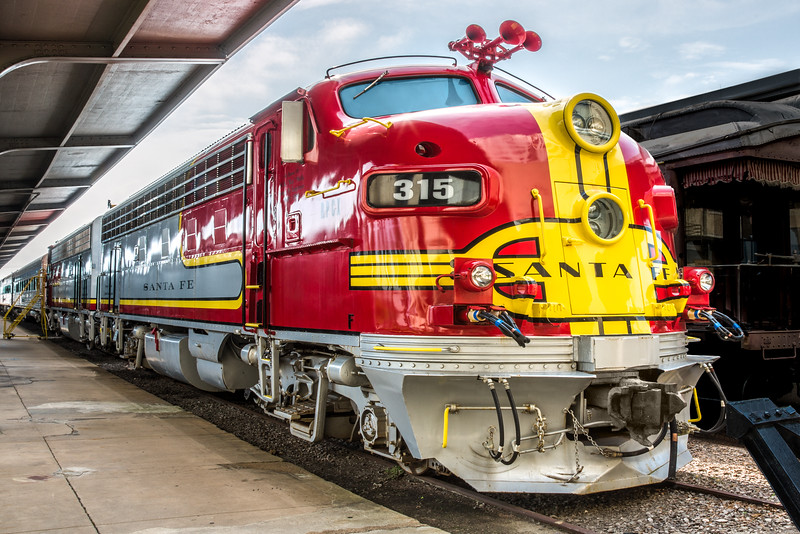 Santa Fe Train, Galveston Train Museum