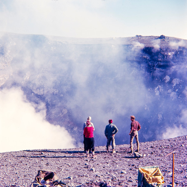 1964 on the crater edge of mt Narahoe.jpg